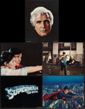 """Movie Posters:Action, Superman the Movie (Warner Brothers, 1978). Deluxe Lobby Cards (10)(11"""" X 14""""). Action.. ... (Total: 10 Items)"""