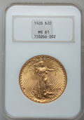 Saint-Gaudens Double Eagles: , 1928 $20 MS61 NGC. NGC Census: (1854/44094). PCGS Population(1489/44213). Mintage: 8,816,000. Numismedia Wsl. Price for pr...