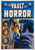 Memorabilia:Poster, Vault of Horror #32 Poster (EC/Graphic Masters, undated)....