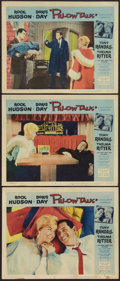 "Movie Posters:Comedy, Pillow Talk (Universal International, 1959). Lobby Cards (3) (11"" X 14""). Comedy.. ... (Total: 3 Items)"