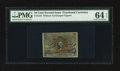 Fractional Currency:Second Issue, Fr. 1244 10¢ Second Issue PMG Choice Uncirculated 64 EPQ.. ...