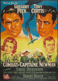 "Movie Posters:War, Captain Newman, M.D. (Universal International, 1964). French Grande(44.5"" X 62""). War.. ..."