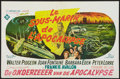 "Movie Posters:Adventure, Voyage to the Bottom of the Sea (20th Century Fox, 1961). Belgian(14"" X 22""). Adventure.. ..."