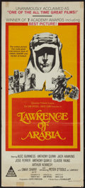 "Movie Posters:Academy Award Winners, Lawrence of Arabia (Columbia, 1963). Australian Daybill (13.25"" X30""). Academy Award Winners.. ..."