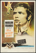 "Movie Posters:Drama, The Wild One (Columbia, 1953). One Sheet (27"" X 41""). Drama.. ..."
