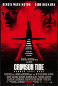 "Movie Posters:War, Crimson Tide (Buena Vista, 1995). One Sheet (27"" X 40"") DS Advance.War.. ..."