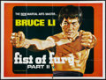 "Movie Posters:Action, Fists of Fury Part II (Inter-Ocean, 1977). British Quad (30"" X40""). Action.. ..."