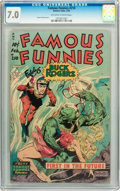 Golden Age (1938-1955):Science Fiction, Famous Funnies #210 (Eastern Color, 1954) CGC FN/VF 7.0 Off-whiteto white pages....