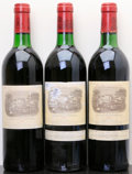 Chateau Lafite Rothschild 1982 Pauillac 1bn, 2ts, 2scl, 1sos, different importers Bottle (3)