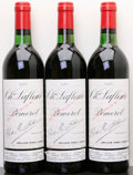Red Bordeaux, Chateau Lafleur 1982 . Pomerol. 1bn, 3lgsl. Bottle (3). ... (Total: 3 Btls. )