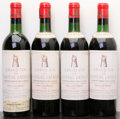 Red Bordeaux, Chateau Latour 1961 . Pauillac. 2vhs, 2hs, 3lwrl, 1cuc forverification. Bottle (4). ... (Total: 4 Btls. )
