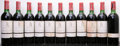 Red Bordeaux, Chateau Latour 1964 . Pauillac. 4ts, 2vhs, 4hs, 1htms,2lbsl, 2bsl, 2wisl, 1oxc, 1-missing label, 1-cuc forverification... (Total: 11 Btls. )