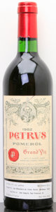Red Bordeaux, Chateau Petrus 1982 . Pomerol. lscl. Bottle (1). ... (Total: 1 Btl. )
