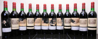Chateau Lafite Rothschild 1982 Pauillac 4bn, ts, 3-labels are barely intact, 1-missing label, 7htal, 1spc, 1ssos Bottle...