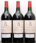 Red Bordeaux, Chateau Latour 1975 . Pauillac. 1bn, 2vhs, 2bsl, 1hbsl.Magnum (3). ... (Total: 3 Mags. )