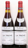 Red Burgundy, La Tache 1984 . Domaine de la Romanee Conti . 1lbsl,#005639, 005786. Bottle (2). ... (Total: 2 Btls. )