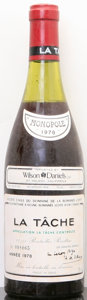 Red Burgundy, La Tache 1978 . Domaine de la Romanee Conti . 3.6cm, lbsl,#008065. Bottle (1). ... (Total: 1 Btl. )
