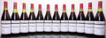 Red Burgundy, Echezeaux 1985 . Domaine de la Romanee Conti . 1(3cm) 1(3.5cm), #012402-012414. Bottle (12). ... (Total: 12 Btls. )