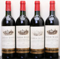 Red Bordeaux, Chateau Ausone 1982 . St. Emilion. 2ts. Bottle (4). ...(Total: 4 Btls. )