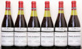 Red Burgundy, Grands Echezeaux 1978 . Domaine de la Romanee Conti .2(3cm), 1(3.4cm), 2(4cm), 1lbsl. Bottle (6). ... (Total: 6 Btls. )