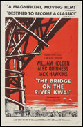 "Movie Posters:War, The Bridge on the River Kwai (Columbia, 1958). One Sheet (27"" X41"") Style A. War.. ..."