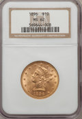 Liberty Eagles: , 1896 $10 MS62 NGC. NGC Census: (536/226). PCGS Population(318/134). Mintage: 76,200. Numismedia Wsl. Price for problemfre...