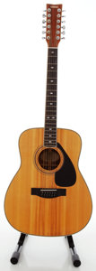 Musical Instruments:Acoustic Guitars, 1980's Yamaha FG-612S Natural 12 String Acoustic Guitar, Serial#109090823...