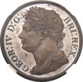 British West Indies, British West Indies: George IV copper Pattern 1/50 Dollar 1823,...