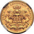 German States:Hamburg, German States: Hamburg. Gold 10 Mark 1913J, ...