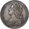 Great Britain, Great Britain: George II Proof Crown 1732,...