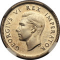 South Africa, South Africa: George VI Proof Sixpence 1939,...