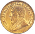 South Africa, South Africa: Republic gold Half Pond 1893,...