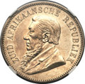 South Africa, South Africa: Republic 5 Shillings 1892 Single Shaft,...