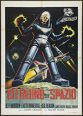 "Movie Posters:Science Fiction, This Island Earth (Universal International, 1955). Italian 2 -Foglio (39"" X 55""). Science Fiction.. ..."