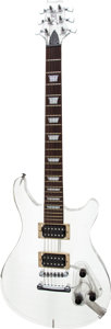 Musical Instruments:Electric Guitars, Dillion 10-2000 Clear Solid Body Electric Guitar, Serial #5 of8....