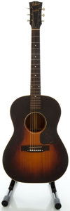 Musical Instruments:Acoustic Guitars, Circa 1942 Gibson LG-2 Refinished Acoustic Guitar, Serial #2723....
