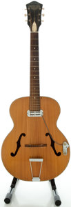 Musical Instruments:Acoustic Guitars, Circa 1960's Harmony Patrician Natural Archtop Acoustic Guitar...