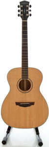 Musical Instruments:Acoustic Guitars, Parkwood PW032WM Natural Acoustic Guitar, Serial #07082572....