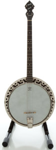 Musical Instruments:Banjos, Mandolins, & Ukes, Circa 1930's Slingerland May Bell Queen Maple Tenor Banjo...