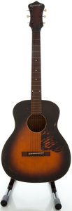Musical Instruments:Acoustic Guitars, Circa Late 1930's Kalamazoo KG-14 Sunburst Acoustic Guitar, Serial #EK-1849....
