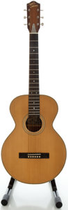 Musical Instruments:Acoustic Guitars, The Robert Johnson Samick Valley Arts Natural Acoustic Guitar, Serial #N037....