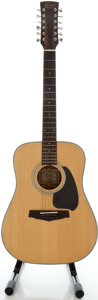 Musical Instruments:Acoustic Guitars, Ibanez PF10-12 Natural 12 String Acoustic Guitar, Serial#92110541P....