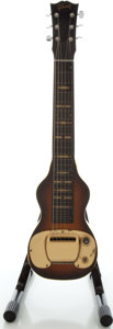 Musical Instruments:Lap Steel Guitars, Circa Early 1950's Gibson BR-6 Mahogany Lap Steel Guitar....