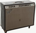 Musical Instruments:Amplifiers, PA, & Effects, 1970's Fender Pro Reverb Silverface Guitar Amplifier, Serial #F916138....