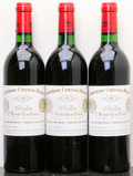 Red Bordeaux, Chateau Cheval Blanc 1982 . St. Emilion. 2sdc. Bottle (3).... (Total: 3 Btls. )