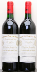 Red Bordeaux, Chateau Cheval Blanc 1990 . St. Emilion. Bottle (2). ...(Total: 2 Btls. )