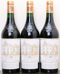Red Bordeaux, Chateau Haut Brion 1990 . Pessac-Leognan. 1lbsl. Bottle (3).... (Total: 3 Btls. )
