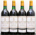 Red Bordeaux, Chateau Pichon Lalande 1986 . Pauillac. 2lbsl, 2wisl. Bottle(4). ... (Total: 4 Btls. )