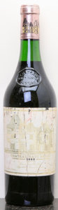 Red Bordeaux, Chateau Haut Brion 1982 . Pessac-Leognan. 3.3cm, bsl, tal.Bottle (1). ... (Total: 1 Btl. )