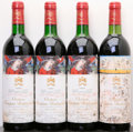 Red Bordeaux, Chateau Mouton Rothschild. Pauillac. 1983 hwasl Bottle (1). 1985 2ts, 2lbsl, 1bsl, 2nl Bottle (3). ... (Total: 4 Btls. )